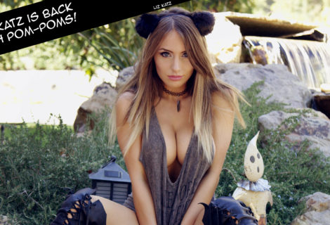Cosplay Gal Liz Katz is Back with New Pom-Poms
