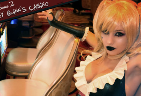 Casino Harley Quinn Cosplay | Welcome To Harley Quinn's Casino