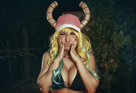Quetzalcoatl:  A Miss Kobayashi's Dragon Maid Lucoa Cosplay Come To Life