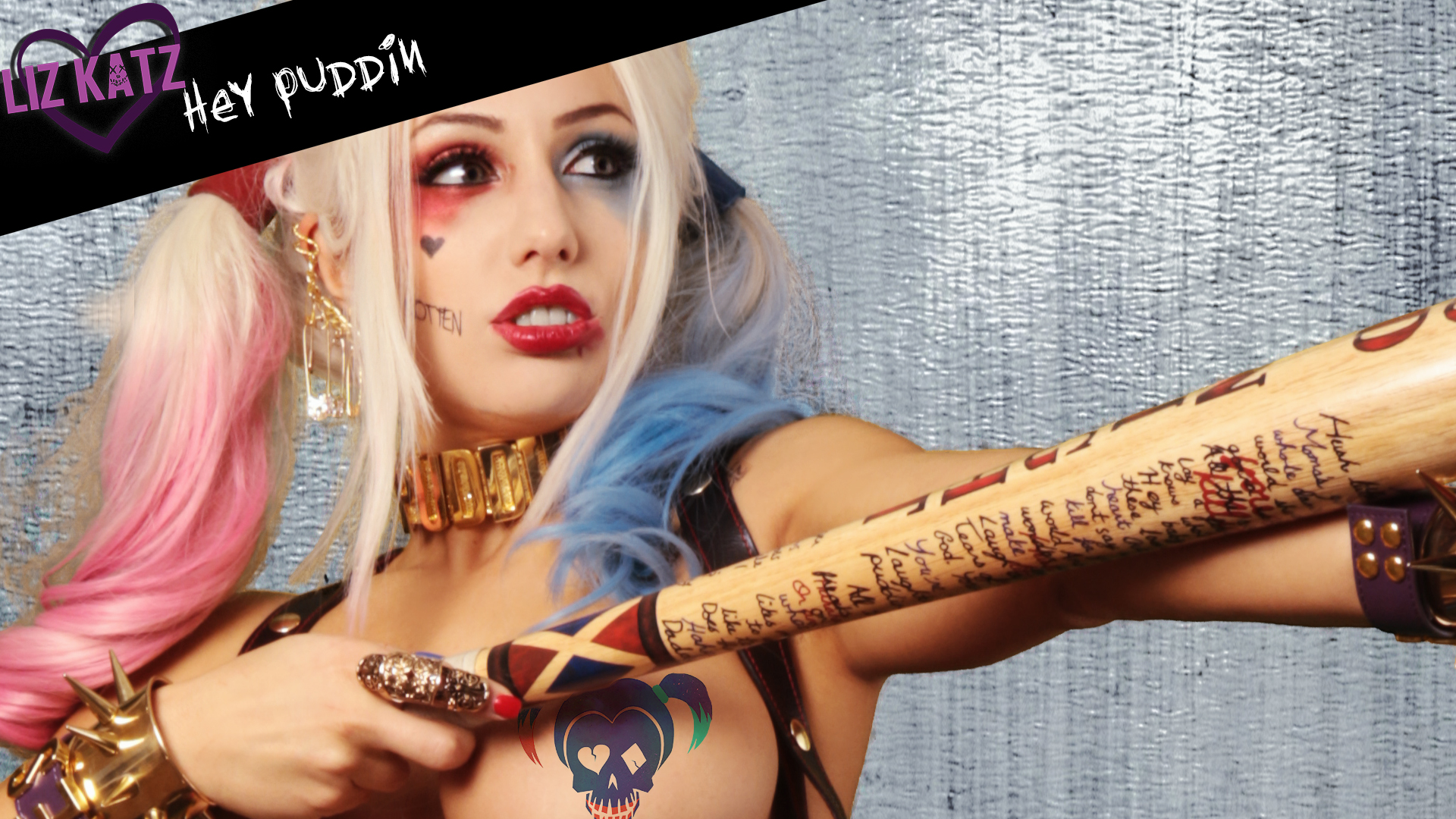 Hey Puddin – Suicide Squad Harley Quinn Cosplay